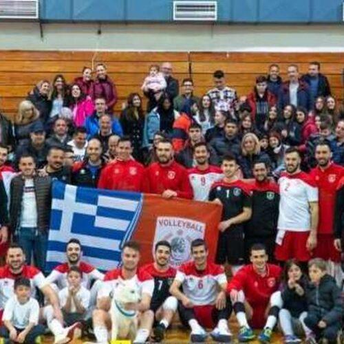 Ο Δήμαρχος Βέροιας για την άνοδο του ανδρικού τμήματος Βόλεϊ του Φιλίππου Βέροιας στην Volley League