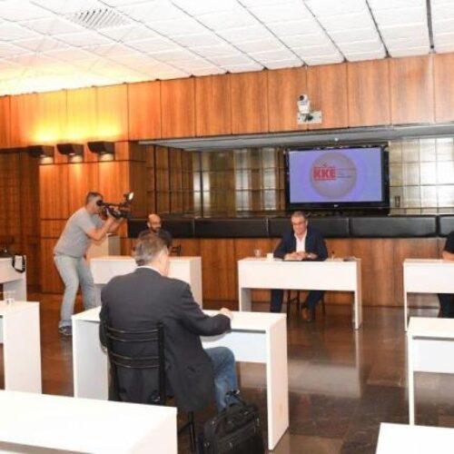 Δήλωση του Δημήτρη Κουτσούμπα μετά την συνάντηση με αντιπροσωπεία της ΟΛΜΕ