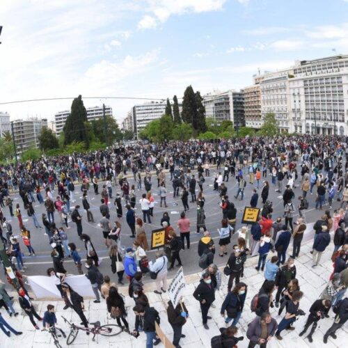 Αθήνα: Η μεγαλύτερη συγκέντρωση καλλιτεχνών η σημερινή
