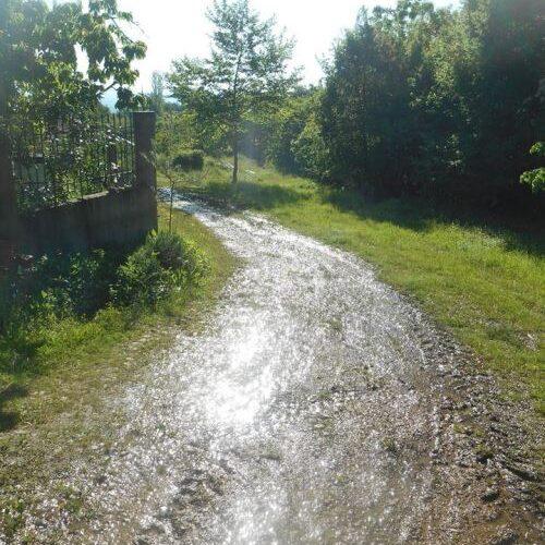 """Ηλίας Τσέχος: """"Τρέχει το νερό στους δρόμους, γεμίζουν τα οικόπεδα με ύδωρ, στο Γιαννακοχώρι"""""""