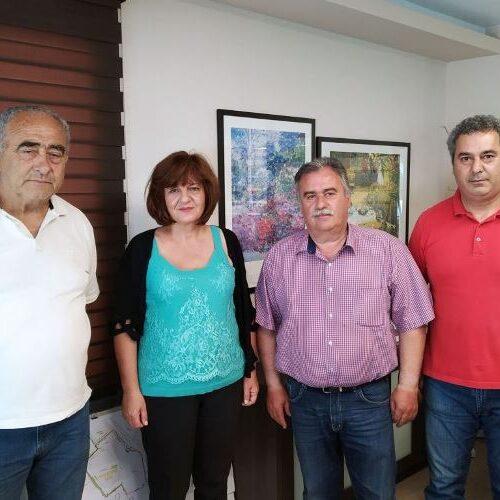Επίσκεψη Φρ. Καρασαρλίδου σε αγροτικούς συνεταιρισμούς του νομού για ζητήματα που αφορούν τους αγρότες