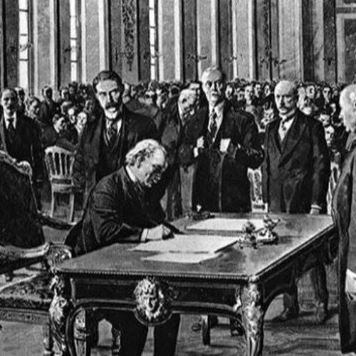Η Συνθήκη των Βερσαλλιών. Το τέλος του Α΄ Παγκοσμίου Πολέμου