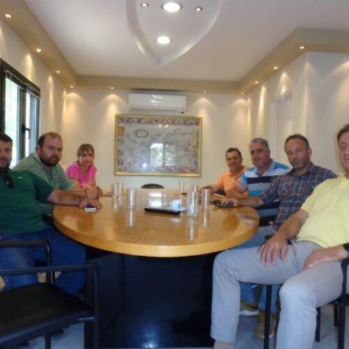 Συνάντηση εκπροσώπων αγροτικών συλλόγων με τον Πρόεδρο Κονσερβοποιών Ελλάδος