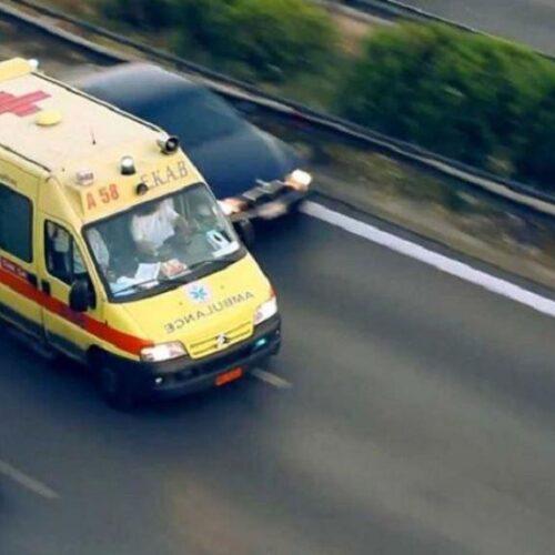 Πιερία: Θανάσιμος τραυματισμός 46χρονου οδηγού στην Εθνική Οδό