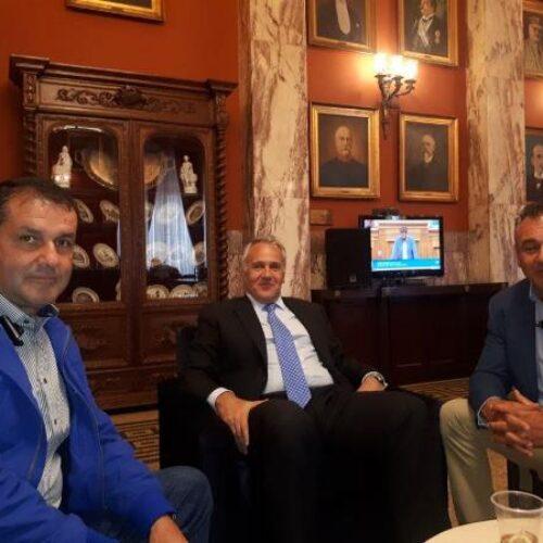 Με Βορίδη και Λυκουρέντζο αντιπροσωπεία του Αγροτικού Συλλόγου Βέροιας