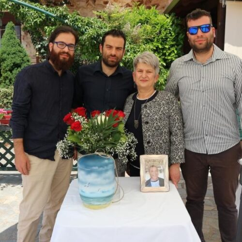 Μνήμη Θόδωρου Μουρατίδη – Μια σεμνή τελετή για έναν ξεχωριστό άνθρωπο