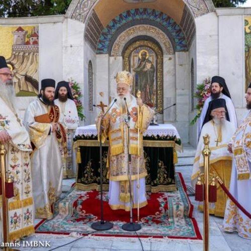 Κυριακή της Πεντηκοστής στο Βήμα του Αποστόλου Παύλου Βέροιας. Έναρξη των λατρευτικών εκδηλώσεων των ΚΣΤ΄ Παυλείων