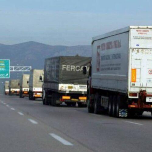 Απαγόρευση κυκλοφορίας φορτηγών κατά τη θερινή περίοδο