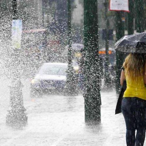 Καταιγίδες και χαλάζι το Σάββατο - Η πρόγνωση της ΕΜΥ