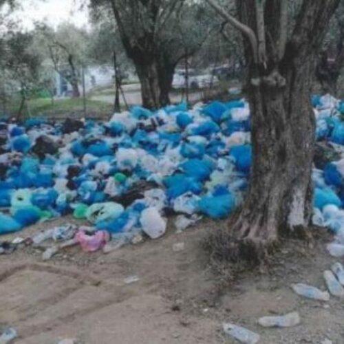 Εικόνες από τη Μόρια: Άνθρωποι ζουν ανάμεσα σε νεκρά ζώα, σκουπίδια και λύματα