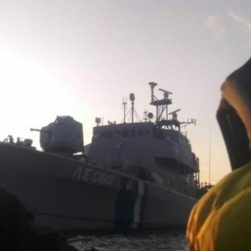 """Βάρκα με πρόσφυγες σε κίνδυνο ανοιχτά της Λέσβου – """"Το λιμενικό βλέπει αλλά δεν επεμβαίνει"""", καταγγέλλει ΜΚΟ"""