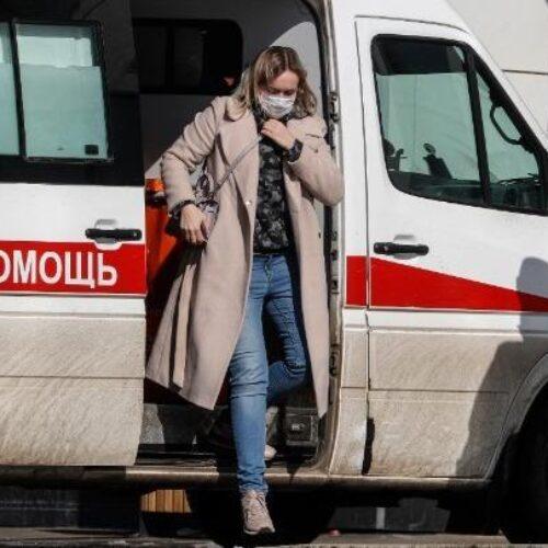 Ρωσία - Κορωνοϊός: Στα 7.728 τα νέα κρούσματα το τελευταίο 24ωρο και 109 θάνατοι από covid-19