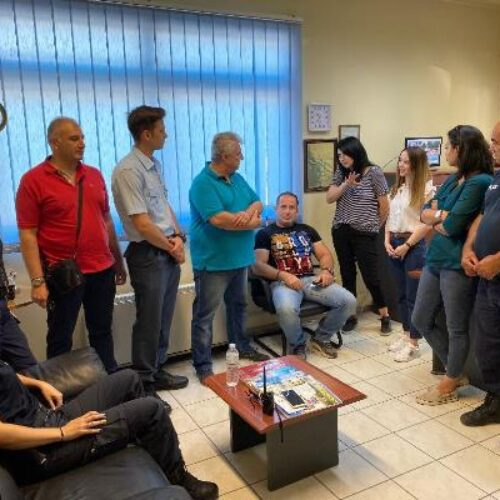 Ενημερωτική συνάντηση του Κ. Σ. Υποστήριξης Γυναικών του Δήμου Βέροιας με τους αστυνομικούς του Τ. Α. Αλεξάνδρειας