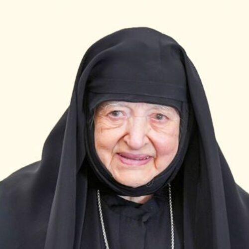 Εκοιμήθει η Οσιολογιωτάτη Καθηγουμένη της Ιεράς Μονής Αγίας Κυριακής Λουτρού, Φιλοθέη Μοναχή