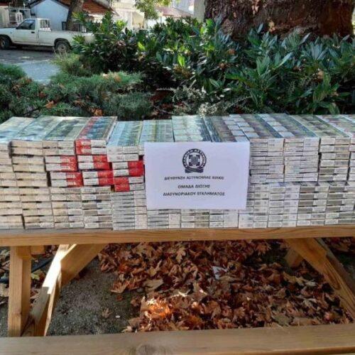 Σύλληψη για 1.000 πακέτα λαθραία τσιγάρα