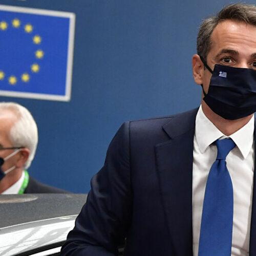 Μητσοτάκης για σύνοδο ΕΕ: Επιστρέφουμε με ένα πακέτο πάνω από 70 δισ. ευρώ