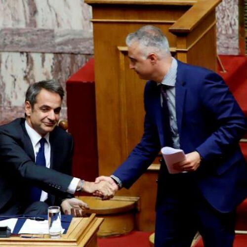 Λάζαρος Τσαβδαρίδης:  «Ένας χρόνος διακυβέρνησης από τη ΝΔ - Η χώρα μας γίνεται ξανά πρωταγωνίστρια»