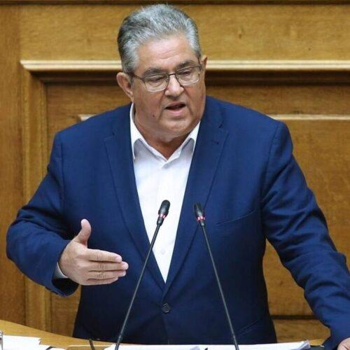 Δημήτρης Κουτσούμπας: Η κυβέρνηση μετακυλά και τα βάρη της νέας κρίσης στις πλάτες των λαϊκών στρωμάτων