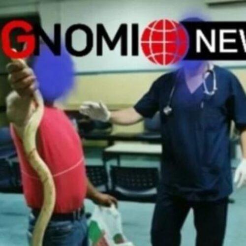 Αλεξάνδρεια: Τον δάγκωσε φίδι και το πήρε μαζί του στο Κέντρο Υγείας! (photos)