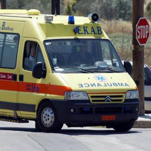 Θανάσιμος τραυματισμός 63χρονου οδηγού από εκτροπή πορείας ΙΧ