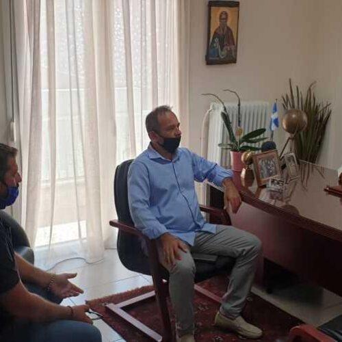 Συνάντηση Αγροτικού  Συλλόγου Ημαθίας με τον Τάσο Μπαρτζώκα