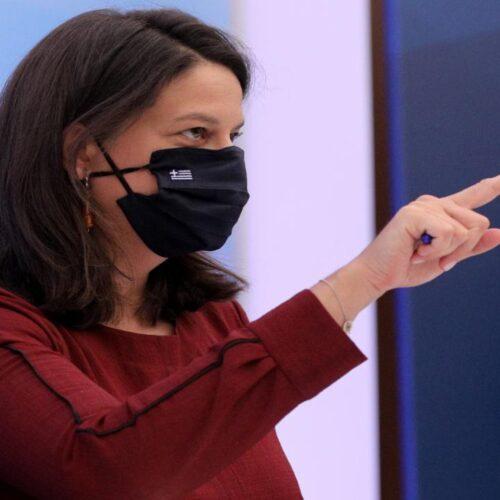 Νίκη Κεραμέως: Υποχρεωτική η χρήση μάσκας σε καιρό πανδημίας - Ενδέχεται να υπάρξει παράταση στο άνοιγμα των σχολείων