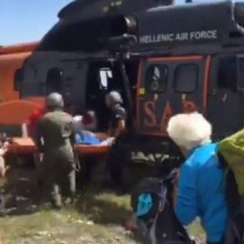 Αίσιο τέλος για δύο ορειβάτες που κινδύνευσαν στον Όλυμπο