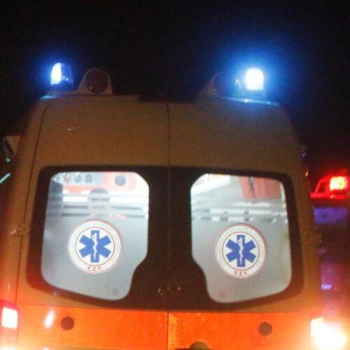 Πιερία: Θανάσιμος τραυματισμός 29χρονου οδηγού από σύγκρουση δύο οχημάτων