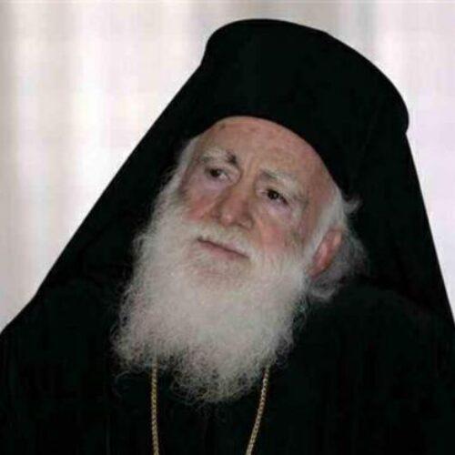 """Απαράδεκτη προτροπή από τον Αρχιεπίσκοπο Κρήτης: """"Μη φοράτε μάσκες κάνουν κακό στην πίστη"""""""
