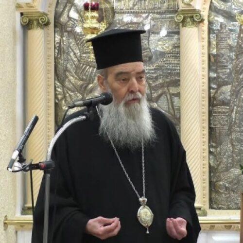 """Γόρτυνος Ιερεμίας: """"Και μέσα στην Εκκλησία, χριστιανέ, μπορεί να κολλήσεις κορωνοϊό"""""""