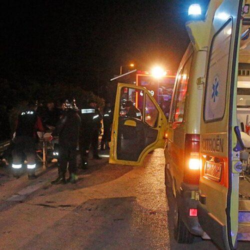 Αλεξανδρούπολη: Φρικτό τροχαίο με 10 νεκρούς και 2 τραυματίες