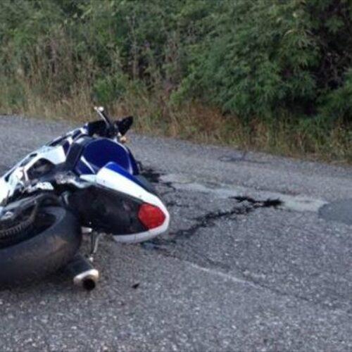 Τροχαίο δυστύχημα με μοτοσυκλέτα - Νεκρός ο 23χρονος οδηγός