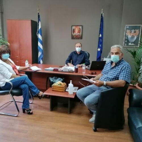 Επίσκεψη της Φρ. Καρασαρλίδου στο Νοσοκομείο Βέροιας