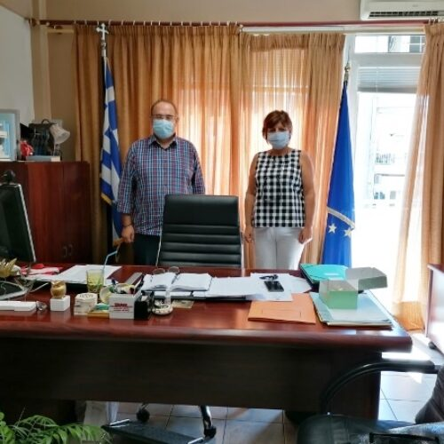 Συνάντηση Φρ. Καρασαρλίδου με τους διευθυντές Α/θμιας και Β/θμιας Εκπαίδευσης Ημαθίας