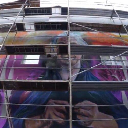 Δήμος Νάουσας: Σε πλήρη εξέλιξη οι δράσεις δημιουργίας εικαστικών έργων της Urban Art σε δημόσια κτίρια της Νάουσας