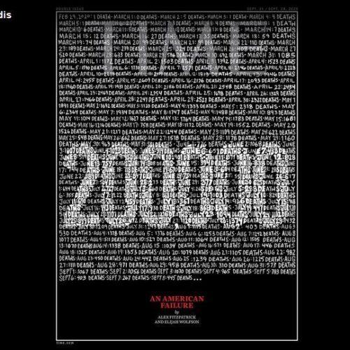ΗΠΑ - Κορωνοϊός: 200.000 οι νεκροί στις ΗΠΑ - Το συγκλονιστικό εξώφυλλο του Time
