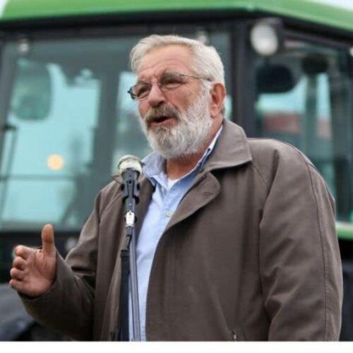 Ο Αγροτικός Σύλλογος Βέροιαςγια την απώλεια του Βαγγέλη Μπούτα
