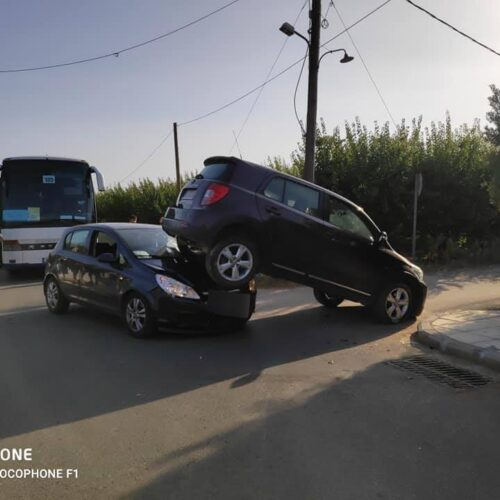 Απίστευτο τροχαίο στη Χαλκιδική χωρίς θύματα