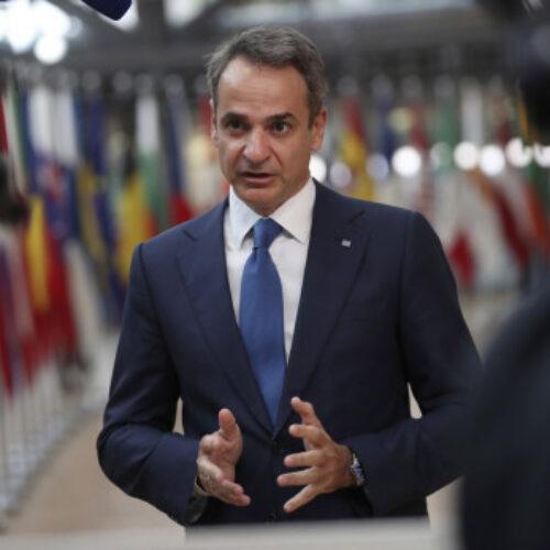 Κυρ. Μητσοτάκης: Αν η Τουρκία θέλει ειλικρινή διάλογο, να το αποδείξει στην πράξη