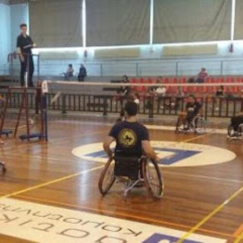 """Πανελλήνιο Πρωτάθλημα Para Badminton 2020 -  Με 4 αθλητές συμμετέχει το """"Εν Σώματι Υγιεί"""""""