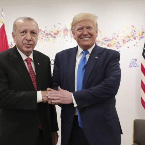 """""""Ο έρωτας Τραμπ - Ερντογάν"""" γράφει ο Βασίλης Γαλούπης"""