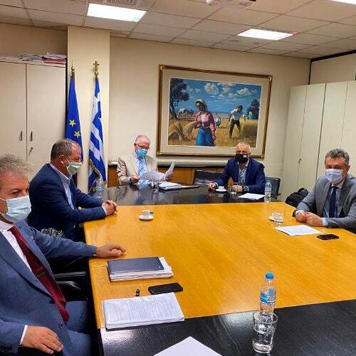 Συνάντηση Λάζαρου Τσαβδαρίδη με το Πρόεδρο του ΕΛΓΑ