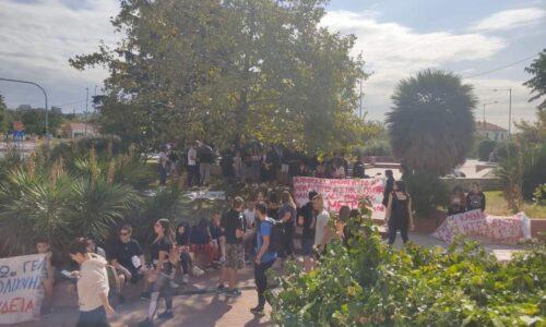 """Μαθητές της Θεσσαλονίκης: """"Οι φωνές μας ακούστηκαν δυνατά! - Νέα κινητοποίηση - πορεία την Τετάρτη 23/9"""""""