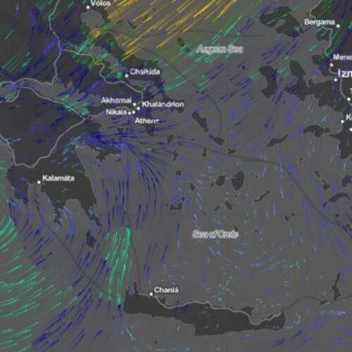 Προς τα πού κινείται ο κυκλώνας «Ιανός» - Ποιες περιοχές θα επηρεαστούν σήμερα Σάββατο