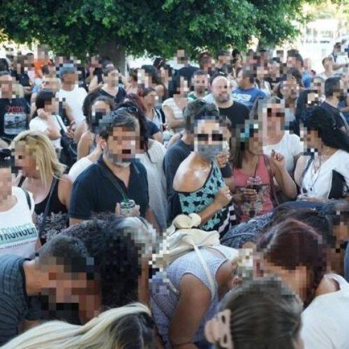 Ηράκλειο: Δικογραφία κατά των διοργανωτών της συγκέντρωσης ενάντια στις μάσκες στα σχολεία