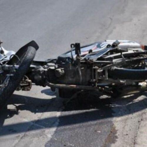 Τροχαίο δυστύχημα με νεκρό 27χρονο οδηγό μοτοσυκλέτας