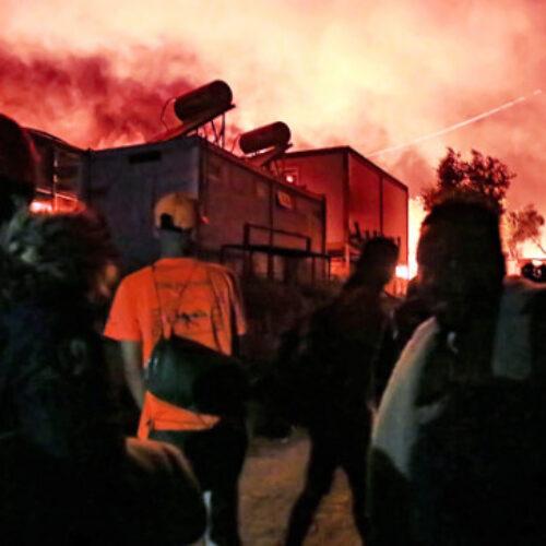Το ΚΚΕ για τη φωτιά στο ΚΥΤ  της Μόριας και την τραγική και εκρηκτική κατάσταση που έχει δημιουργηθεί στο νησί της Λέσβου
