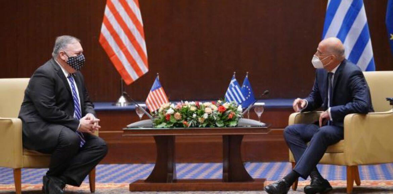"""Κοινή Δήλωση Ελλάδας- ΗΠΑ:  """"Επανέλαβαν την αφοσίωσή τους στην ενίσχυση της στενής συνεργασίας τους ως σύμμαχοι στο ΝΑΤΟ"""""""