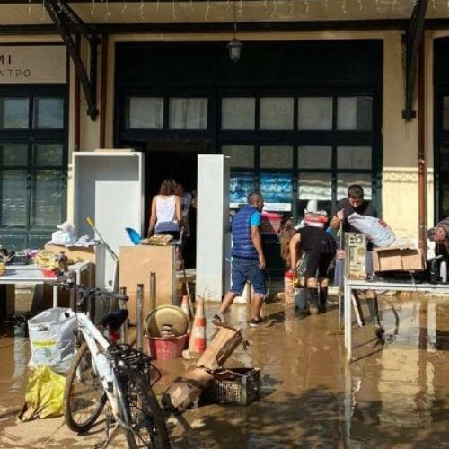 Πρόσφυγες στο πλευρό των πλημμυροπαθών της Καρδίτσας