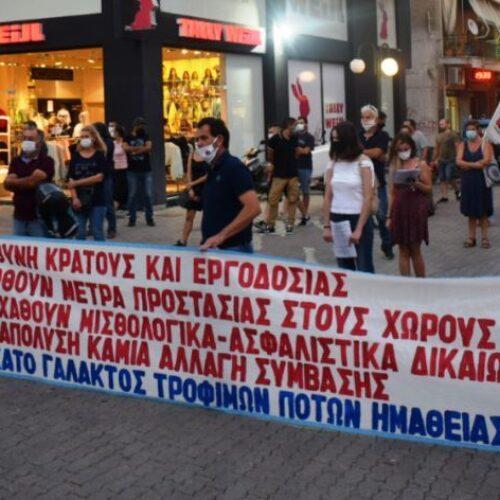 """Συνδικάτο Γάλακτος Ημαθίας - Πέλλας: """"Απαντάμε με απεργία τη μέρα ψήφισης του αντεργατικού νομοσχεδίου"""""""